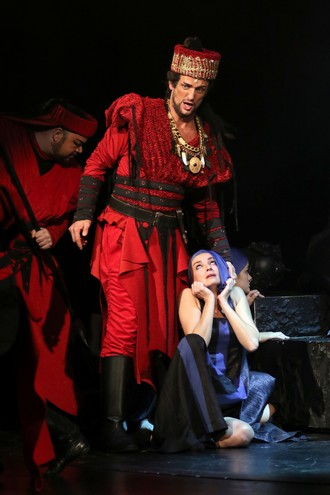 Giuseppe Verdi: Attila - David Szendiuch (Attila) – SD Opava 2016 (foto Tomáš Ruta)