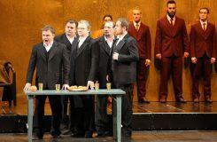 Richard Strauss: Salome - Róbert Remeselník (1. Žid), Martin Gyimesi (2. Žid), Jozef Kundlák (3. Žid), Martin Malachovský (5. Žid), Ivan Rychlo (4. Žid) - SND Bratislava (zdroj SND)