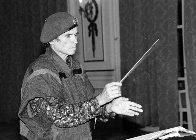 Rudolf Nurejev (foto Roland Godefroy)