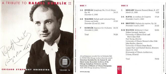 Rafael Kubelík a Chicago Symphony orchestra (zdroj davidroyko.com)