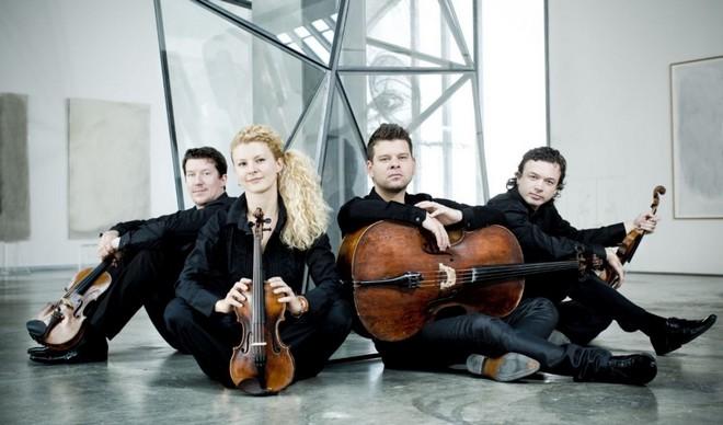 Pavel Haas Quartet (foto Marco Borggreve/archiv MHF Lípa Musica)