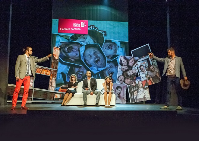 Gioachino Rossini: Příležitost dělá zloděje aneb Italština pro zamilované - JD České Budějovice 2016 (foto Michal Siroň/JD České Budějovice)