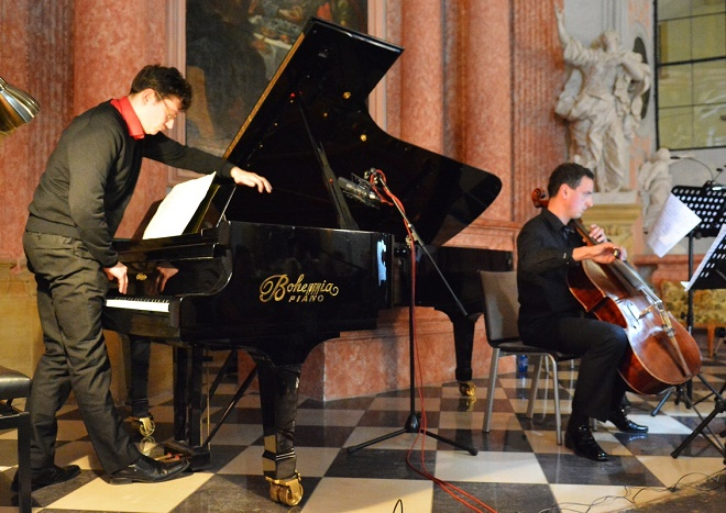 Lichtzwang - Marek Keprt, Jiří Fajkus - MusicOlomouc 2016 (foto MusicOlomouc / Petra Kožušníková - Marek Otava)