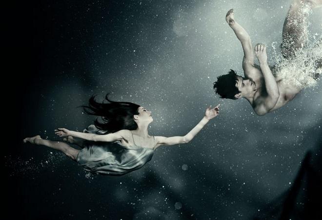 J. Kodet: Malá mořská víla - vizuál (zdroj FB Baletu ND)