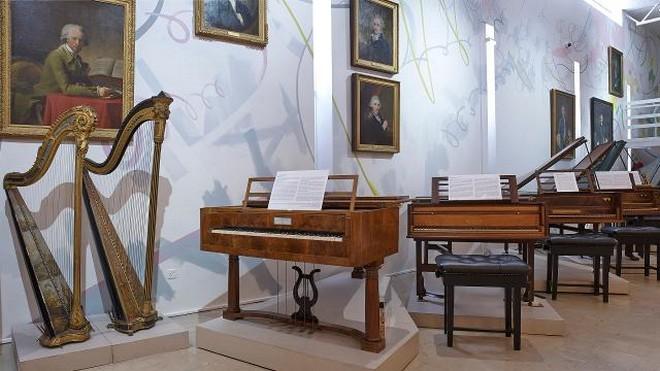Muzeum Royal College of Music Londýn (foto archiv autora)