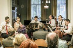 Parnas Quintet a Lukáš Daňhel - Památník Leoše Janáčka 15. 10. 2016 (foto Janáček Brno 2016)