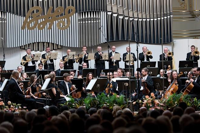 Bratislavské hudobné slávnosti 2016: Otvárací koncert - Slovenská filharmónia - Koncertná sieň Slovenskej filharmónie Bratislava 2016 (foto © Jan F. Lukas)