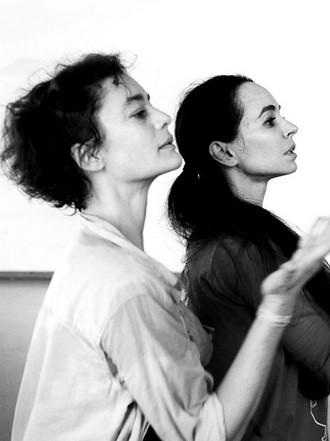 Aurélie Dupont a Diana Vishneva (zdroj FB Aurélie Dupont)