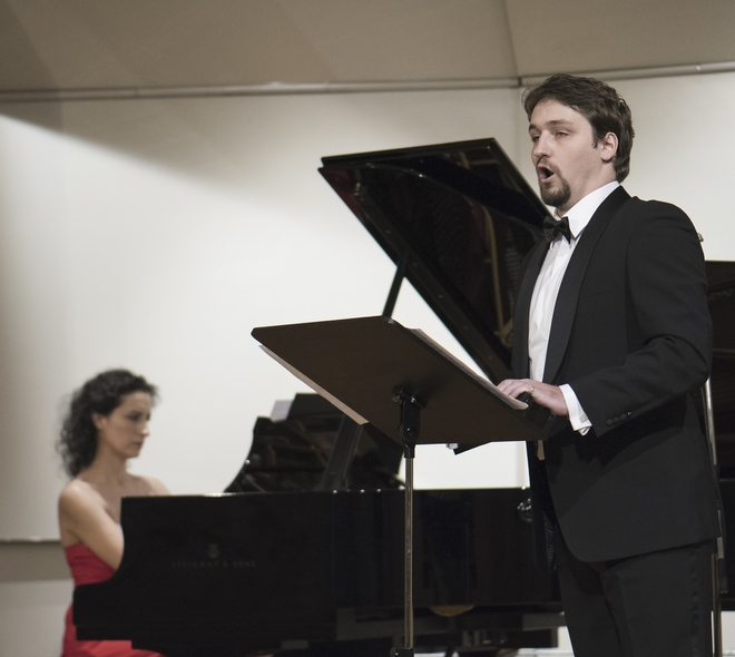 Vokálny koncert - Jordana Palovičová, Pavol Kubáň - BHS 26. 11. 2016 (foto Alexander Trizuljak)