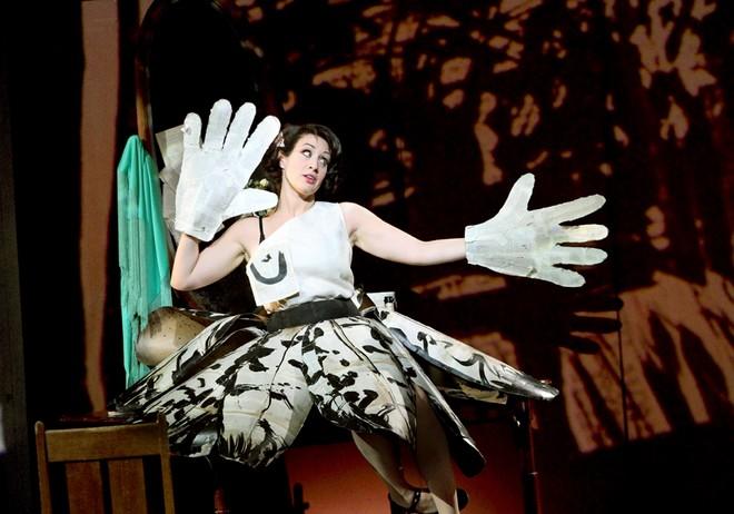 Alban Berg: Lulu - Brenda Rae (Lulu) - English National Opera 2016 (foto © Catherine Ashmore/ENO)