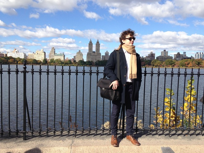 Na procházce v Central Parku (foto archiv autora)