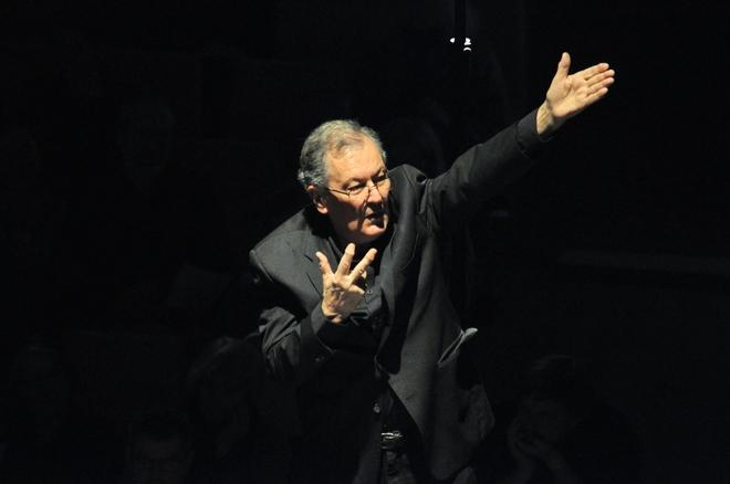 Hudba pro tři orchestry - Petr Kotík - Forum Praha 19.11.2016 (foto Zdeněk Chrapek)