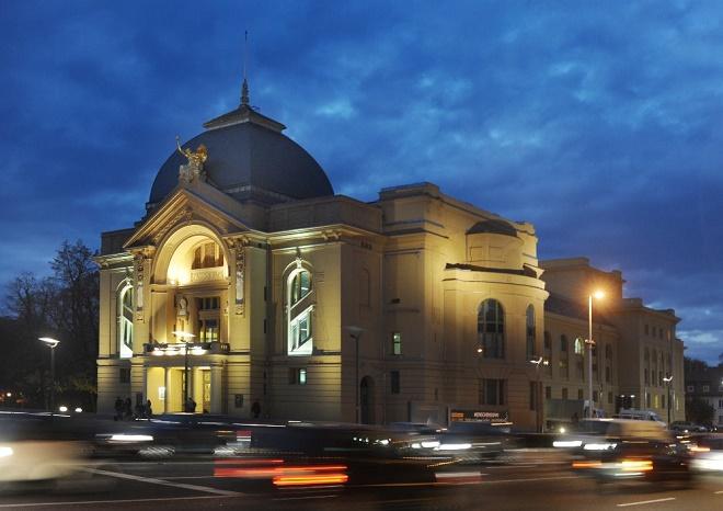 Bühnen der Stadt Gera (foto Pavel Horník)