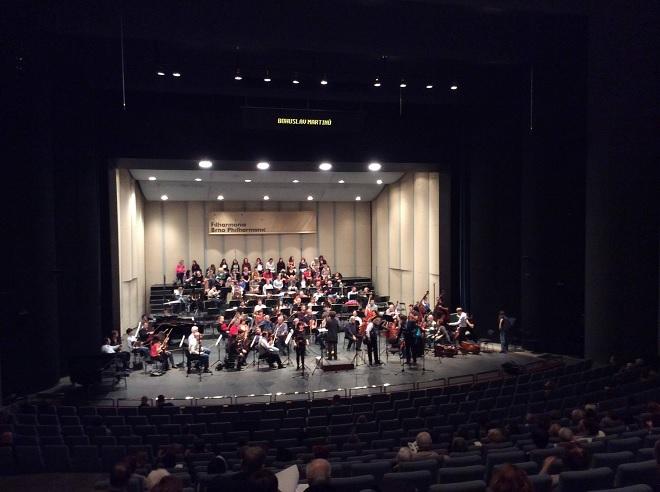 Z Kytice a Aladina - Filharmonie Brno, Český filharmonický sbor - Brno 23.11.2014 (zdroj FB Filharmonie Brno)