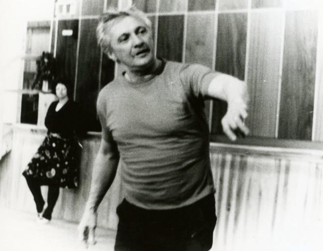 Gustav Voborník (foto archiv DJKT Plzeň/Věra Caltová)