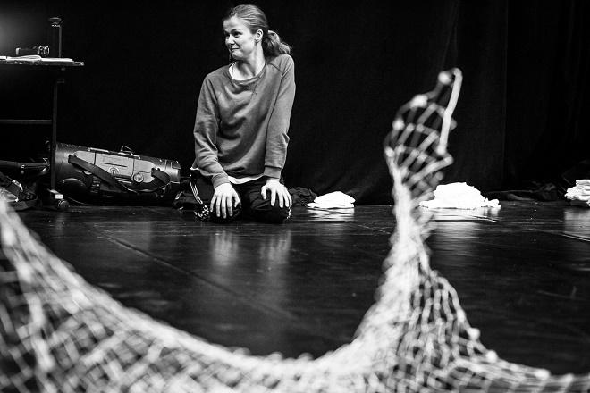 Lešanské jesličky rehearsal - Lenka Vagnerová (foto Lenka Vagnerová & Company)