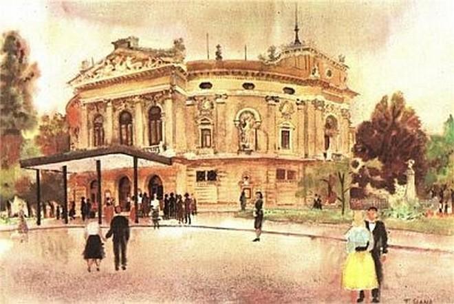 Ljubljanska opera (foto archiv)