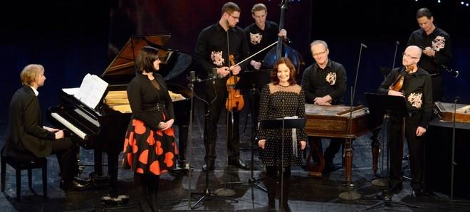 Písňové studánky Leoše Janáčka - Ivo Kahánek, Klára Obručová-Blažková, Martina Janková a Ensemble Flair - Musica Pura 2016 (foto Ivan Korč)