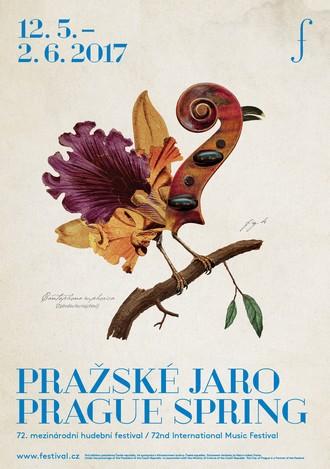 Pražské jaro 2017 - nový vizuál (foto © Pražské jaro, Dynamo Design)