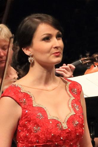 Slávka Zámečníková (foto Mezinárodní pěvecká soutěž Antonína Dvořáka)