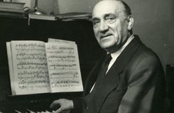 Antonín Barták, jeden ze slavných plzeňské opery