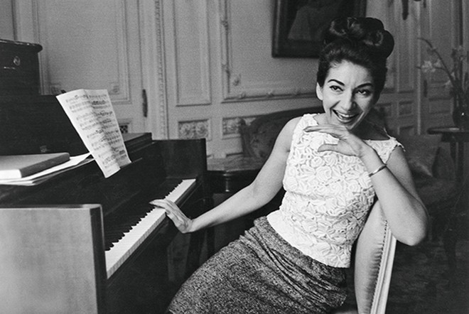 Maria Callas (foto Jack Garofalo/Parismatch/Scoop)