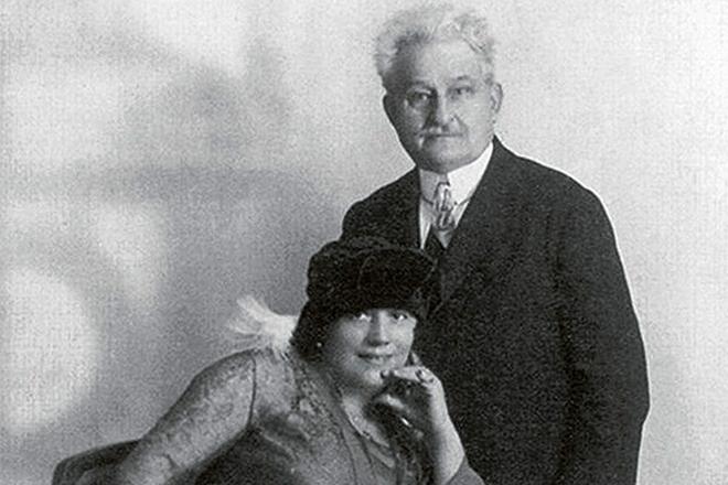 Leoš Janáček a Kamila Stösslová - 1917 (foto archiv)