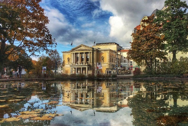 Opera v Halle (foto Petr Horník)