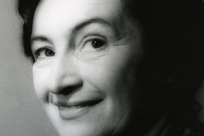 Margita Česányiová (foto Magdaléna Robinsonová)