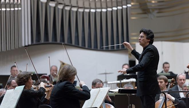 Michael Sanderling, Drážďanská filharmónia - BHS 3.12.2016 (foto @ Jan. F. Lukáš)