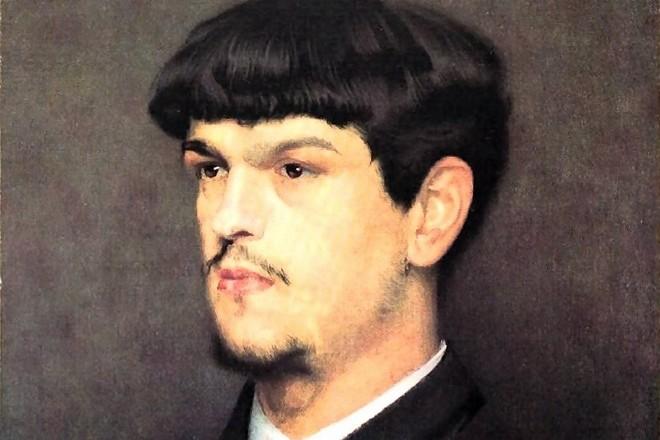 Marcel Baschet: Claude Debussy - 1884 (zdroj commons.wikimedia.org/Bibliothèque nationale de France)