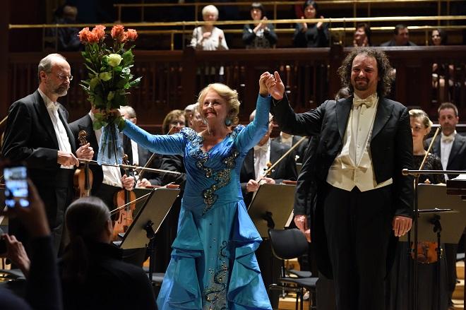 Edita Gruberová Gala - Edita Gruberová, Peter Valentovič, Symfonický orchestr hl. m. Prahy FOK - Praha 30.11.2016 (foto FOK)