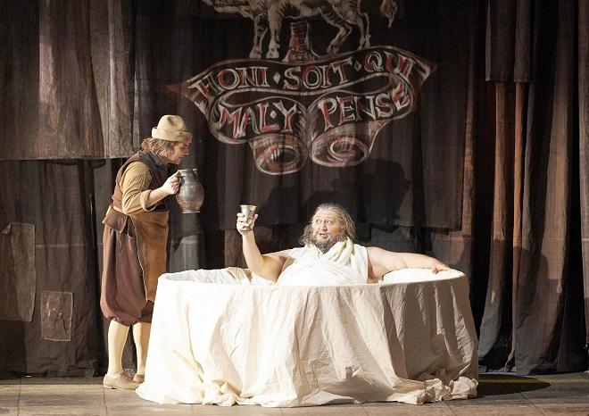 G. Verdi: Falstaff - Ambrogio Maestri (Falstaff) - Wiener Staatsoper 2016 (foto Wiener Staatsoper / Michael Pöhn)