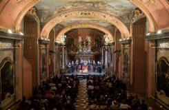Německá moteta v Zrcadlové kapli pražského Klementina