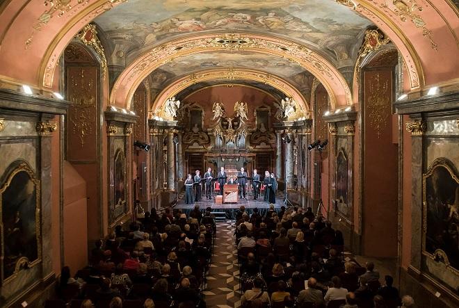 Německá moteta - Cappella Mariana - Barokní podvečery 1.12.2016 (foto © Petra Hajská)