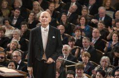 Česká filharmonie a já vám přejeme šťastný nový rok!