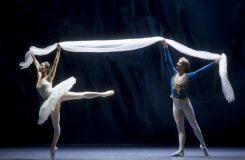 Cesta baletu La Bayadère na středoevropská jeviště
