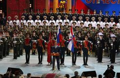 Alexandrovci zpívali poprvé od loňské letecké katastrofy