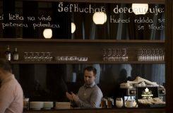 Fotoreportáž: V Rudolfinu dnes po dvouleté rekonstrukci znovu otevřeli kavárnu