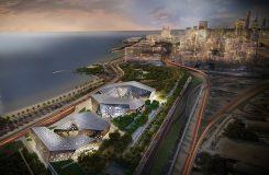 V Kuvajtu zachvátil požár novou budovu opery