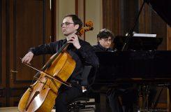 Eduard Šístek: mladý violoncellista v Sukově síni