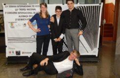 Mladí čeští akordeonisté zabodovali v mezinárodním klání v Portugalsku