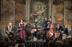 Trojský zámek ovládly baskické tance. Letní slavnosti staré hudby pokračují