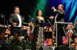 Gheorghiu a Vargas ukončili koncert v Českém Krumlově kvůli počasí předčasně