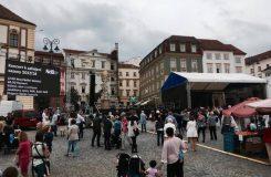 Brněnské Národní divadlo letos zahájilo novou sezonu na Zelném trhu