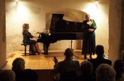 Sopranistka Anda-Louise Bogza poprvé v kostele svatého Vavřince