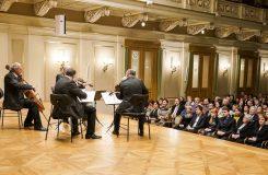 Závěrečný koncert festivalu Moravský podzim – Janáčkovo kvarteto a nový Janáčkův kvartet
