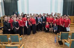 70 let oslavilo město Nova Gorica zpěvem sborů z Brna