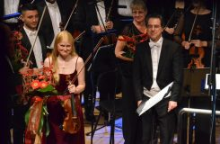 Krvavé housle. Gabriela Demeterová na Hudebním fóru Hradec Králové