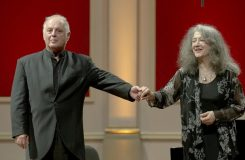 Barenboimovy paralelní vztahy s Argerich a Mahlerem
